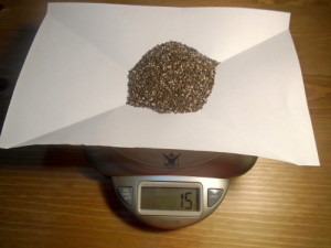 Maximum Chia Seeds Intake